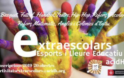 """Comencem el curs a """"Extraescolars, Esports i Lleure Educatiu acidH"""""""