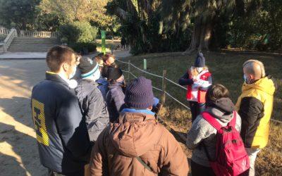 Activitat sobre el canvi climàtic al Parc de la Ciutadella