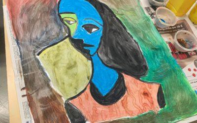 Autorretrat al taller de pintura