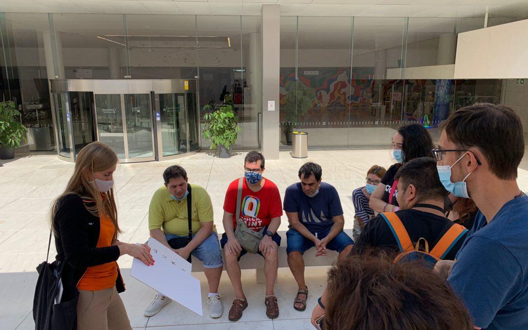 Experiència al Teamlab al CaixaForum