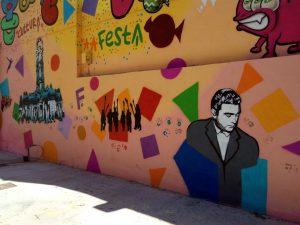 Mural a Gràcia 2