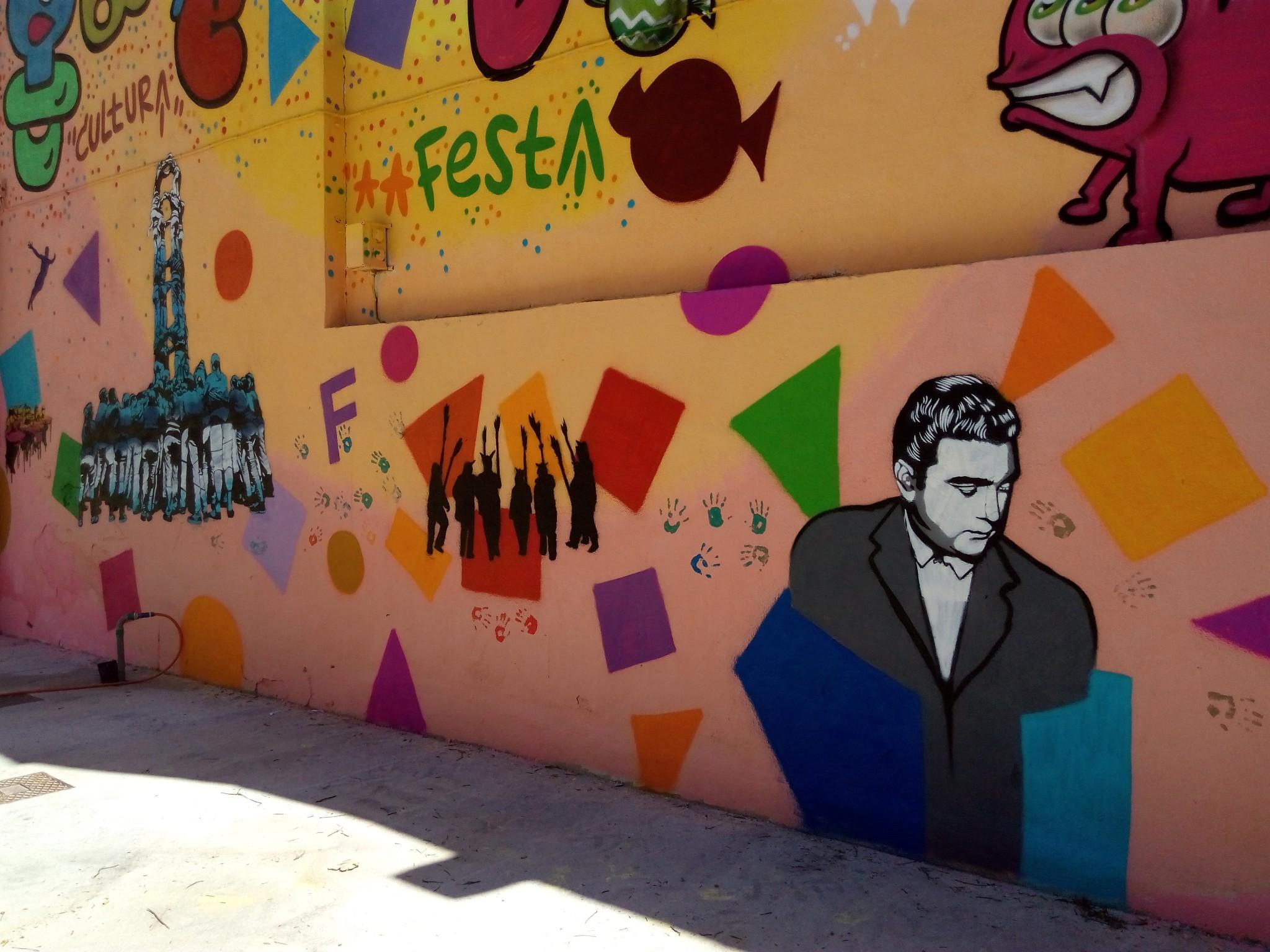 Acidh y otras entidades de gracia se unen para pintar un for Cuanto cobrar por pintar un mural