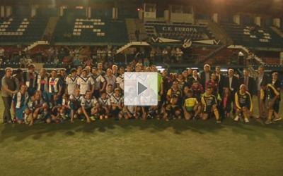 L'Europa-acidH s'adjudica el trofeu Sense Límits de futbol inclusiu