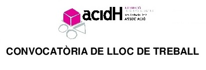 CONVOCATÒRIA DE LLOC DE TREBALL