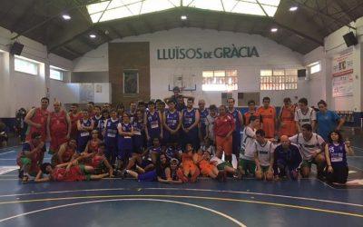 Lluïsos de Gràcia-acidH, guanyadors del V torneig Stiga de bàsquet adaptat Sant Jordi