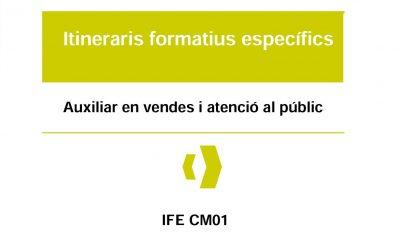 acidH impartirá el IFE de Auxiliar de Ventas y Atención al Público