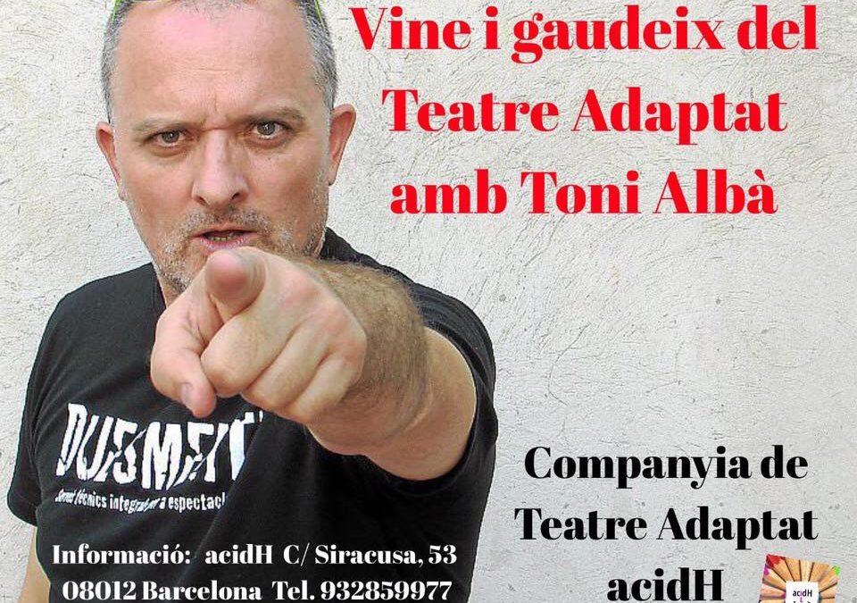 En marxa la Companyia de Teatre Adaptat acidH