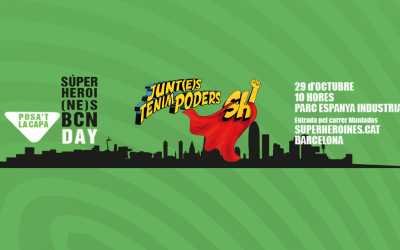 Participa en el reto #superheroinesBcn!