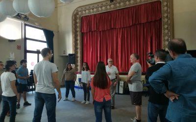Continúan las clases de Teatro Adaptado con Toni Albà