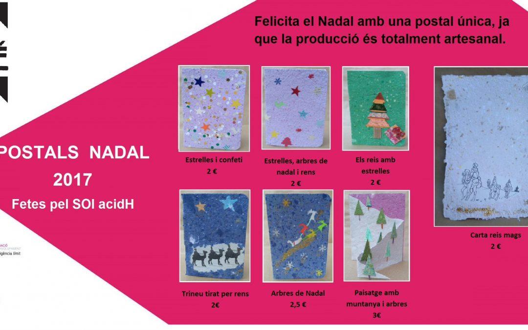 Felicita el Nadal amb una postal única per les persones amb IL!