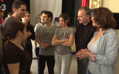 El teatro de acidH en el programa De Bon Humor de TV3