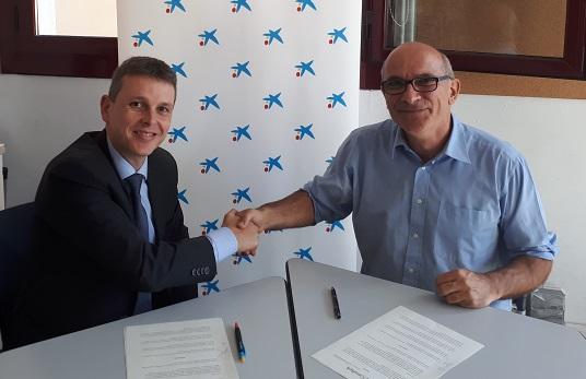 Conveni de col·laboració amb Caixabank