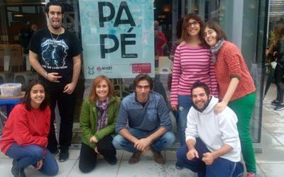 Taller de PA PE reciclado en la diada solidaria HP Charity Day