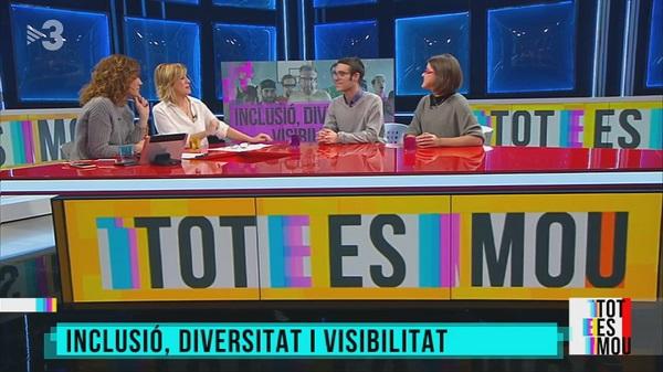 Fiona y Miquel en TV3 – Tot es Mou