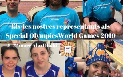 "Viajamos a Abu Dhabi para disputar los ""Special Olympics"""