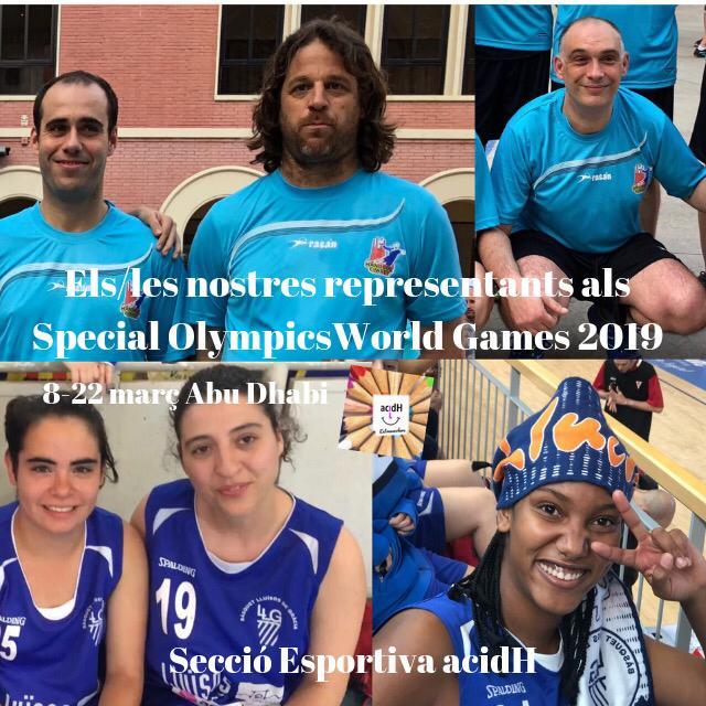 """Viatgem a Abu Dhabi per disputar els """"Special Olympics"""""""