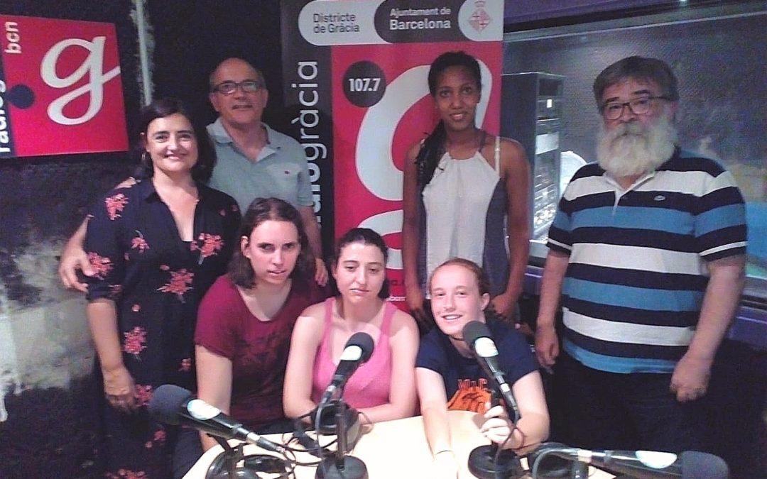Entrevista a les nostres pregoneres a Ràdio Gràcia