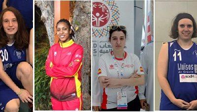 L'Equip Olímpic Femení acidH-Lluïsos de Gràcia, pregoneres de la Festa Major de Gràcia 2019