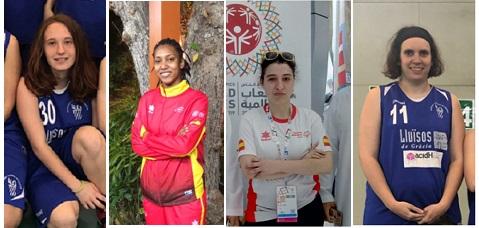 El Equipo Olímpico Femenino acidH-Lluïsos de Gràcia, pregoneras de la Festa Major de Gràcia 2019