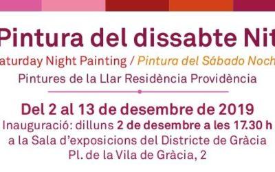 Exposición: Pintura del Sábado Noche