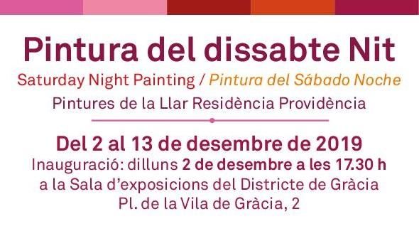 Exposició: Pintura del Dissabte Nit