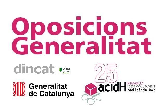 Preparació oposicions cos subaltern Generalitat de Catalunya