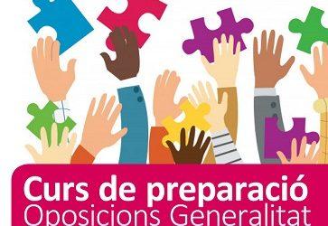 Curs de preparació a les oposicions Generalitat