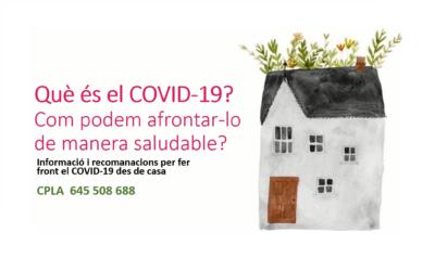 Què és el COVID-19? Com podem afrontar-lo de manera saludable?