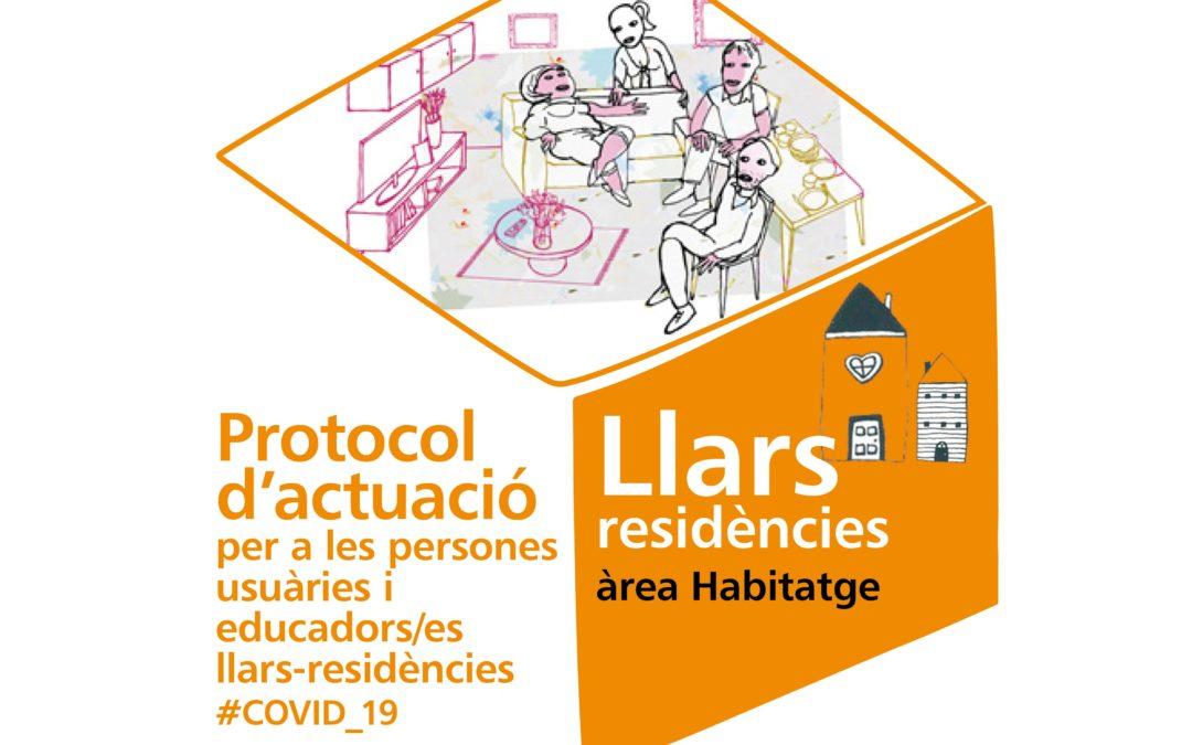 📢 Protocolo de actuación   Personas usuarias y educadores/as hogares-residencias