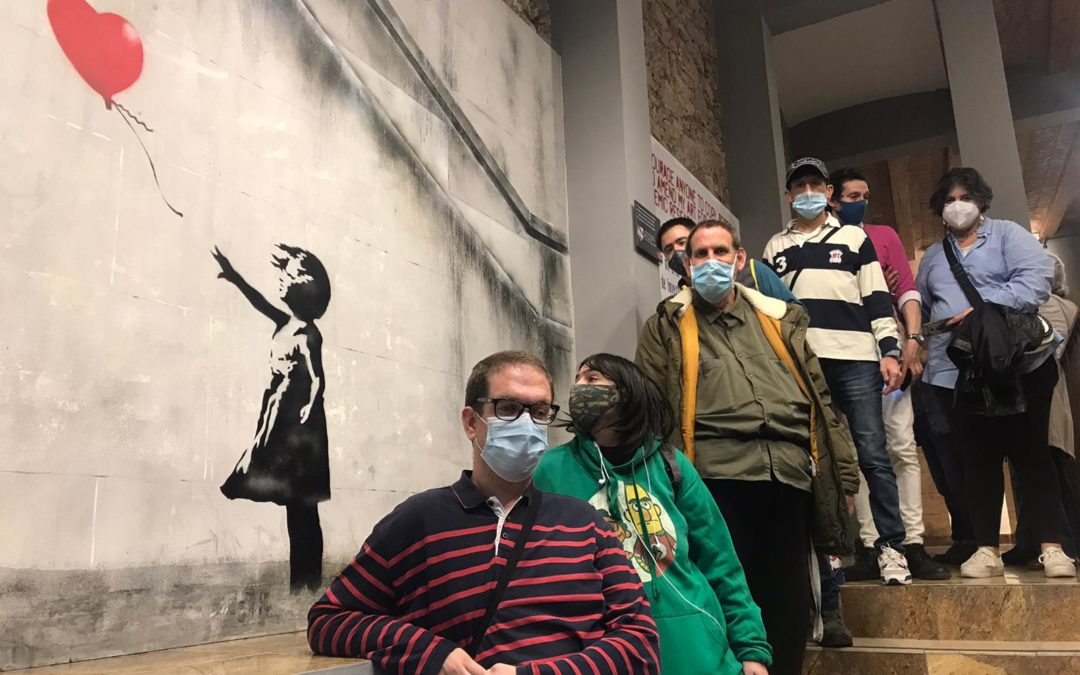 Visitem l'exposició MÓN DE BANKSY