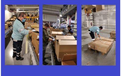 El Servei d'Inserció laboral inicia una relació de col•laboració amb Mango amb  dues insercions al Centre logístic de Lliçá d'Amunt.