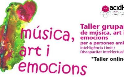Taller de música, art i emocions