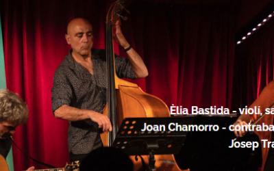 ATENCIÓN: POSPONEMOS Concierto de jazz solidario «Bastida, Chamorro & Traver Trio» en las Terrasses ''Punt de Vistes''