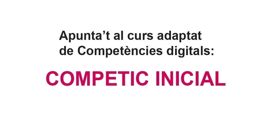Curs de competències digitals Competic 2021-2022