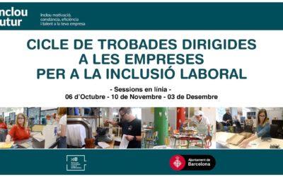 Cicle de trobades dirigides a empreses per a la inclusió laboral